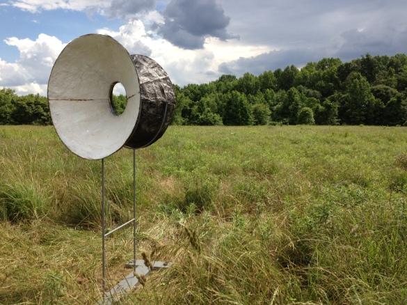 Outdoor Installation Adkins Invitational Sculpture Exhibition 2013