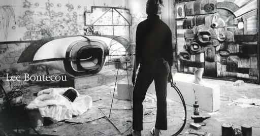 Bontecou in Studio 1963